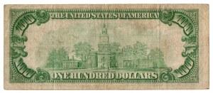 USA, 100 dolarów 1929