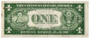 USA, 1 dolar 1935 czerwona pieczęć