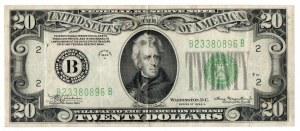 USA, 20 dolarów 1934