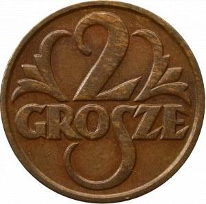 II Republic of Poland, 2 groschen 1932