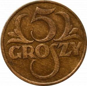 II Rzeczpospolita, 5 groszy 1928