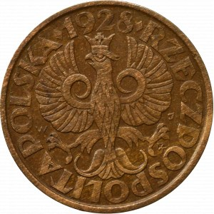 II Republic of Poland 5 groschen 1928