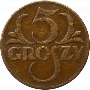 II Republic of Poland, 5 groschen 1934