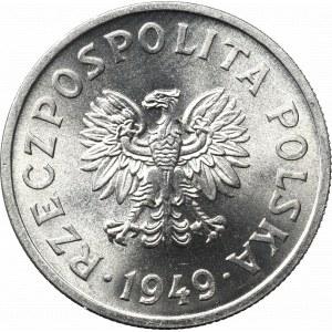 PRL, 50 groszy 1949