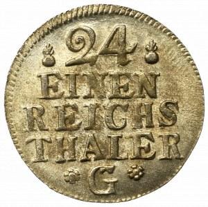 Germany, Preussen, 1/24 thaler 1754 G