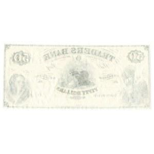 USA, 50 dolarów 18.... Virginia - The Traders Bank of the city of Richmond