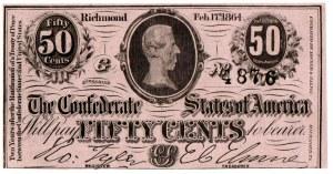 USA, 50 centów 1863 Confederate States of America