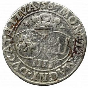 Sigismund II August, 4 groschen 1569, Vilnius, L/LITVA
