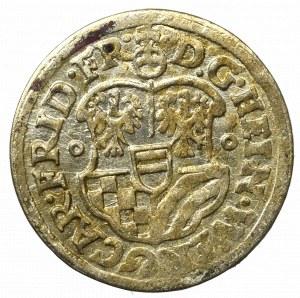 Śląsk, Księstwo Oleśnickie, Henryk Wacław i Karol Fryderyk, 3 krajcary 1621 BH