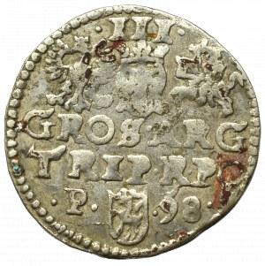 Sigismund III, 3 groschen 1598, Posen