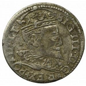 Zygmunt III Waza, Trojak 1596, Ryga - nieopisany