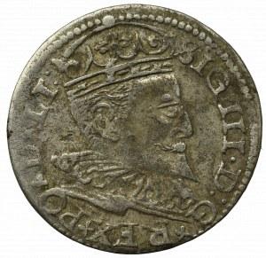 Sigismund III, 3 groschen 1596, Riga