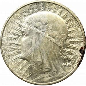 II Rzeczpospolita, 10 złotych 1932 BZM, Londyn