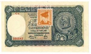 Słowacja, 100 koron 1940 Specimen