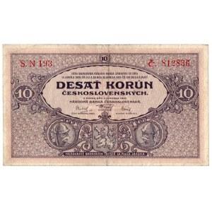 Czechosłowacja, 10 koron 1927