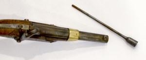 France, Cavalry pistol 1816 T Bis singleshot