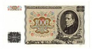 Czechosłowacja, 1000 koron 1934