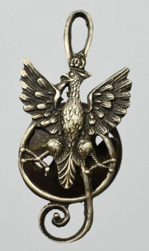 II RP, Miniatura orła na kluczu wiolinowym