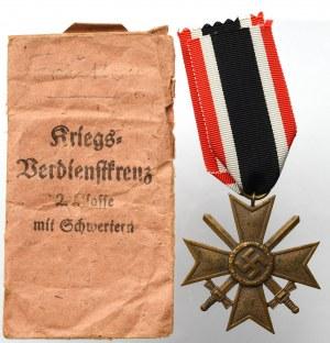 Niemcy, III Rzesza, Krzyż Zasługi Wojennej (KVK) 2 klasy