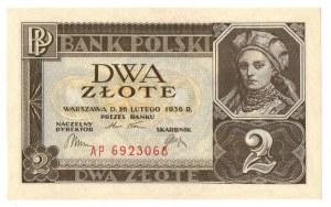 II Rzeczpospolita, 2 złote 1936 AP