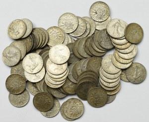 France, Lot of 1 franc 1911-20 (90 ex)