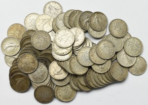 France, Lot of 50 centimes 1898-1920 (91 ex)