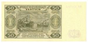 PRL, 50 złotych 1948 DR