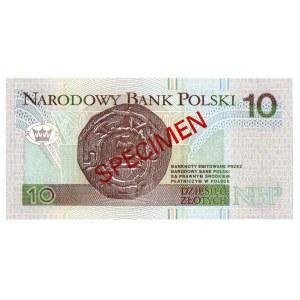 10 złotych 1994 WZÓR - AA 0000000 - Nr. 1799