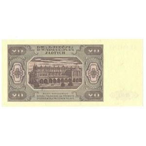 PRL, 20 złotych 1948 KE