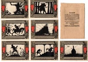 Komplet notgeldów Detmold w oryginalnej kopertce