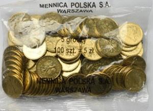 III RP, Woreczek menniczy 5 groszy 2007