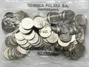 III RP, Woreczek menniczy 10 groszy 2007