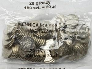 III RP, Woreczek menniczy 20 groszy 2007