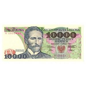 PRL, 10 000 złotych 1987 M