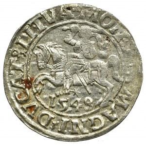 Sigismund II Augustus, Halfgroat 1548, Vilnius