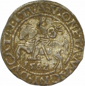 Zygmunt II August, Półgrosz 1562, Wilno - L/LITVA