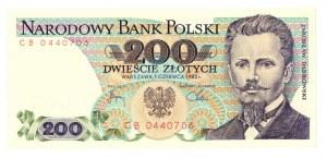 PRL, 200 złotych 1982 CB