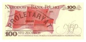 PRL, 100 złotych 1982 KG