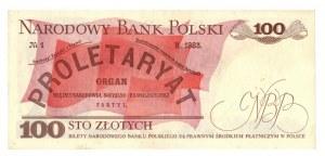 PRL, 100 złotych 1979 HA