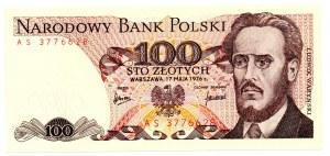 PRL, 100 złotych 1976 AS