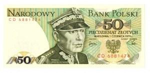 PRL, 50 złotych 1979 CD