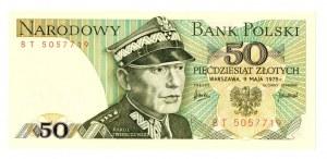 PRL, 50 złotych 1975 BT