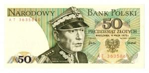 PRL, 50 złotych 1975 AT