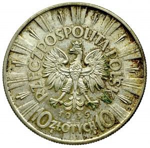 II Republic of Poland, 10 zloty 1935 Pilsudski
