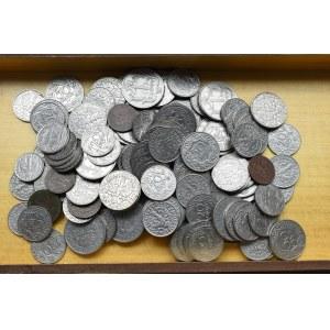 II Rzeczpospolita, Zestaw monet od 2 groszy - 1 zloty - 144 egzemplarze