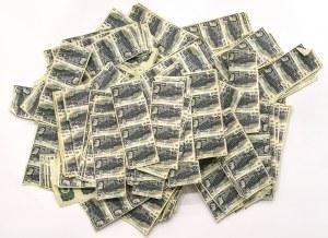 II RP, Zestaw odcinków kuponów akcji dolarowych BGK