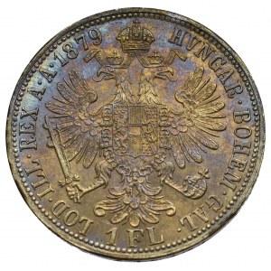 Austro-Węgry, Franciszek Józef, 1 floren 1879