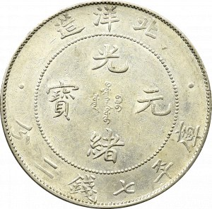 Chiny, Dolar, Prowincja Pei Yang, Guangxu
