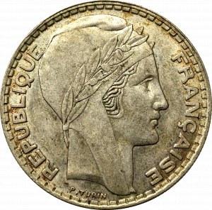 Francja, 20 franków 1938