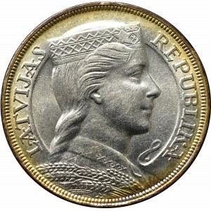 Łotwa, 5 łatów 1929